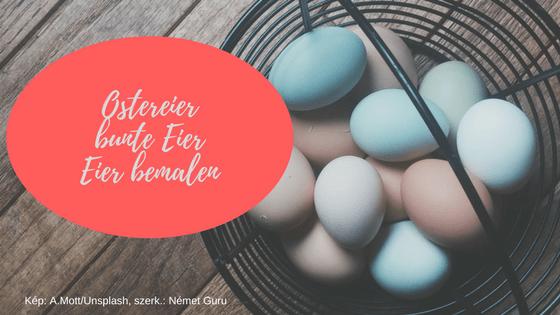 Német húsvét szókincs